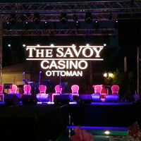 Photo taken at The Savoy Ottoman Palace Hotel & Casino by Hazal I. on 5/24/2013