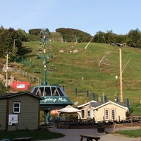 Photo taken at Mont Tremblant by Maskarm H. on 9/19/2014