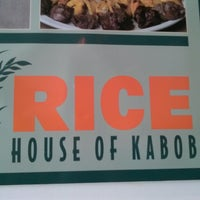 Photo taken at Rice House Of Kabob by Karla V. on 3/24/2014