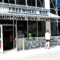 Photo taken at Freewheel Bike Shop - Midtown Bike Center by City Pages on 4/30/2013
