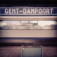 Photo taken at Station Gent-Dampoort by Tom R. on 11/17/2013