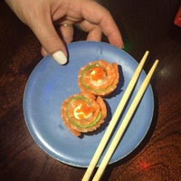 Photo taken at Real Sushi Greenside by William P. on 4/27/2016