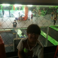 Photo taken at Jump Mania by Samantha D. on 9/7/2014