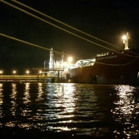 Photo taken at Oil Tanking South Dock by Richard T. on 5/25/2016