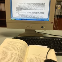 Photo taken at Biblioteca Nacional de Portugal by Maria Delfina V. on 11/21/2016