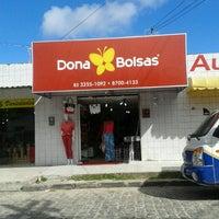 Photo taken at Dona Bolsas by Mari M. on 7/17/2013
