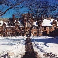 Photo taken at Rockefeller College by Xaris K. on 1/28/2015