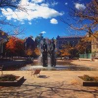 Photo taken at Scudder Plaza by Xaris K. on 12/15/2015