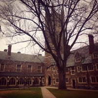 Photo taken at Rockefeller College by Xaris K. on 12/14/2014