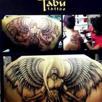Photo taken at Tabu tattoo & piercing by E.AYDIN on 5/9/2014