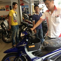 Photo taken at Super Racing Motorcycle Parts by June T. on 4/5/2013