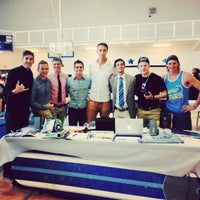 Photo taken at Mahoney Gym at Palm Beach Atlantic University by Chad W. on 8/23/2013