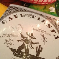 Photo taken at Cafe Fiesta by James C. on 6/17/2013