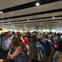 Photo taken at Security/Passport Control - T3 by Daniel E. on 6/23/2016
