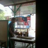 Photo taken at Sate Tegal Barokah by derry f. on 5/9/2013