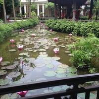 Photo taken at Sen Tây Hồ by Verdandi C. on 6/17/2013