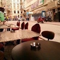 Photo taken at Cafe Bi-Melek by Serhat A. on 7/1/2013