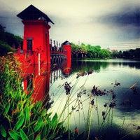 Photo taken at Lake by Sudhisak C. on 5/19/2013