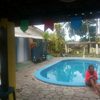 Photo taken at La Rocca Brasil - Beach Hostel Porto de Galinhas by Tatiane C. on 7/2/2016