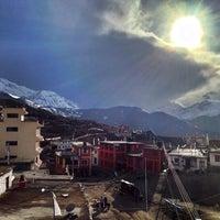 Photo taken at Ranipauwa , Muktinath by Ananta Govinda d. on 3/27/2014