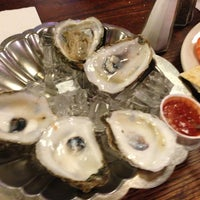 Photo taken at Tom's Oyster Bar by bryon b. on 1/30/2013