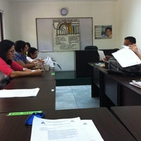Photo taken at Barangay Teachers Village East Session Hall by Mark P. on 10/19/2013