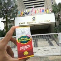 Photo taken at Bank Negara Malaysia by Farid A. on 1/27/2017