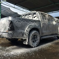 Photo taken at Petronas Car Wash by Anderson T. on 7/17/2014