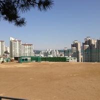 Photo taken at 사직중학교 by Jon S. on 2/11/2013