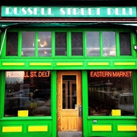 Photo taken at Russell Street Deli by Shane on 2/27/2014