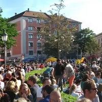 Das Foto wurde bei Gärtnerplatz von Branimir D. am 9/16/2012 aufgenommen
