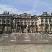 Photo taken at Somerset House by Nadia Y. on 4/14/2013