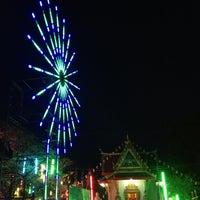 Photo taken at วัดบางแม่หม้าย จ.สุพรรณบุรี by Moon M. on 4/13/2013