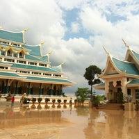 Photo taken at Wat Pa Phu Kon by OJUNG on 5/25/2013