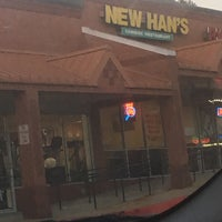 Photo taken at New Han's Chinese Restaurant by Mesa D. on 1/18/2017
