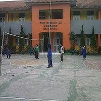 Photo taken at SMPN 43 Bandung by Andre Maulana A. on 5/8/2013