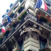 Photo taken at Hôtel Baltimore by Aseel. on 8/9/2013