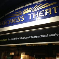 Photo taken at Duchess Theatre by Danny B. on 4/6/2013