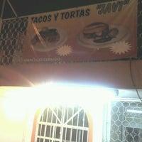 Photo taken at tacos y tortas javi by Jorge F. on 5/26/2013