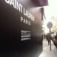 Photo taken at Yves Saint Laurent by Renaud F. on 2/6/2015