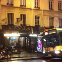 Photo taken at L'Abribus by Renaud F. on 12/8/2014