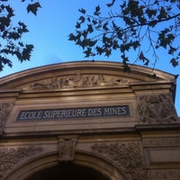 Photo taken at École des Mines by Renaud F. on 9/7/2016