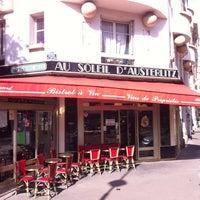 Photo taken at Au Soleil d'Austerlitz by Renaud F. on 8/20/2014
