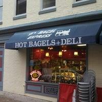 Photo taken at JP's Bagel Express / Sunrise Bagels Cafe by 🚍Bill🚍 V. on 5/11/2013