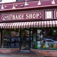 Photo taken at Carlo's Bake Shop by 🚍Bill🚍 V. on 5/9/2013