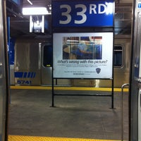 Photo taken at 33rd St PATH Station by 🚍Bill🚍 V. on 5/3/2013