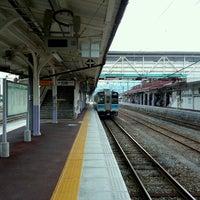 Photo taken at Shinano-Ōmachi Station by golgodenka on 10/7/2012