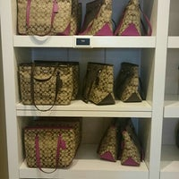 Photo taken at Coach Factory Outlet by Oycan G. on 7/29/2015