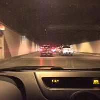 Photo taken at Airport Tunnel by Adam R. on 3/4/2016