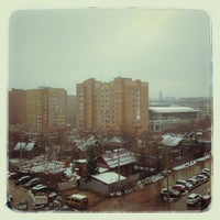 Photo taken at Новые дворы by Aleksey A. on 4/13/2013